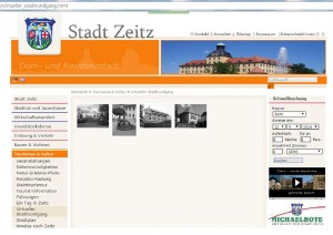 Website virtueller stadtrundgang